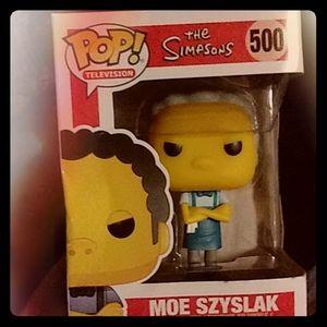 Pop Simpson's Character Moe Szyslak #500